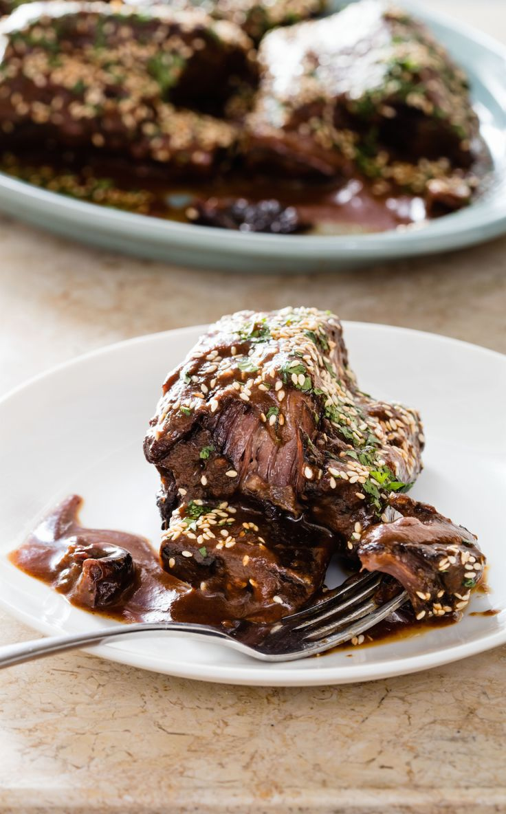 Pomegranate Braised Beef Short Ribs - This braise takes its cue from a ...