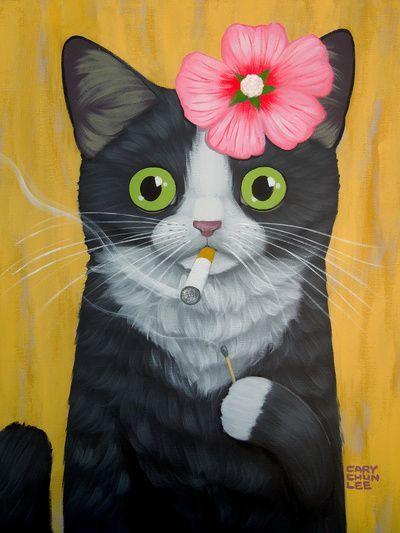 cary chun lee paintings - Поиск в Google