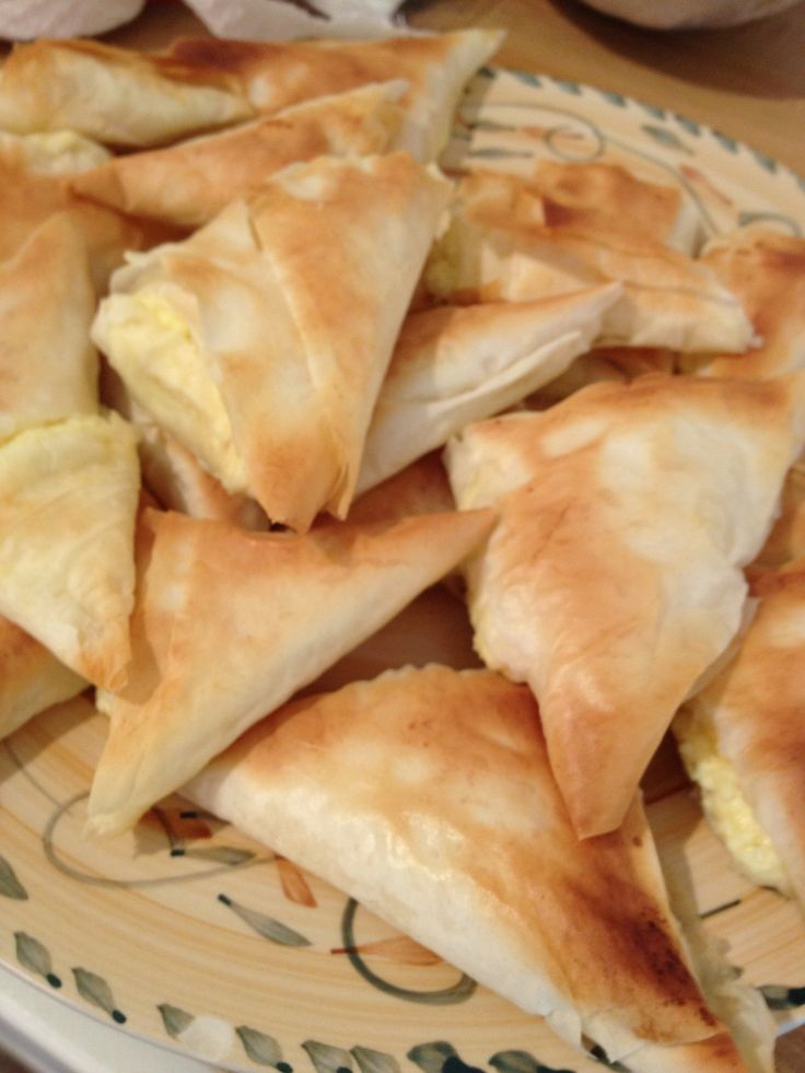 How to Make Greek Tiropita (Cheese Puffs)