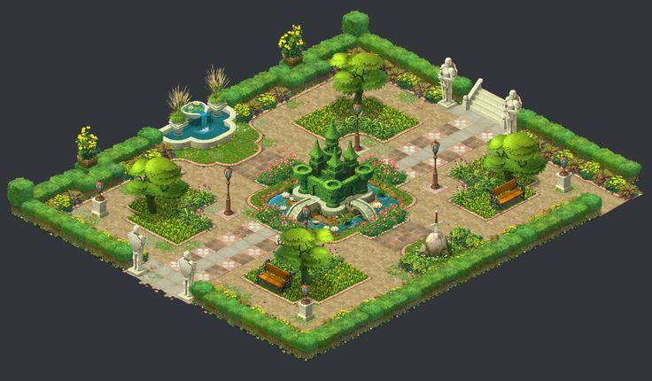 Artstation Gardenscapes New Acres Artdump Ilya Shigin Pinterest Artworks And Acre
