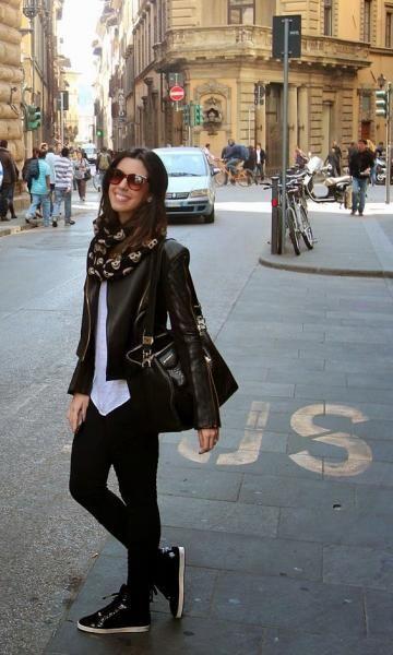Look: Camila Coelho - Jaqueta de Couro