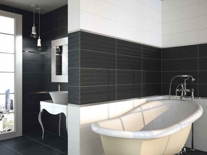 8 best Salle de bain noir  blanc images on Pinterest