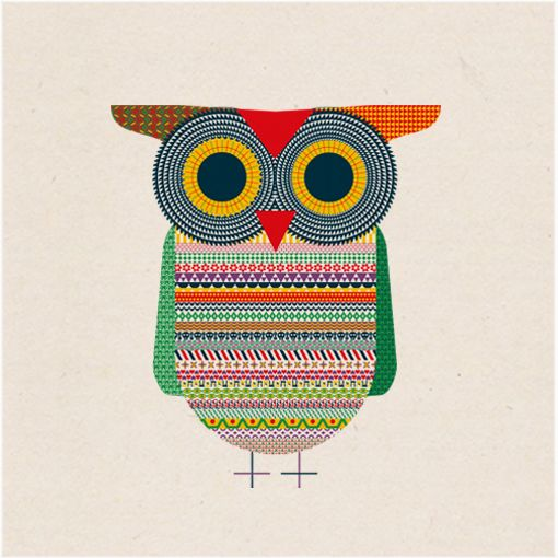 Good luck owl by Michael Golan