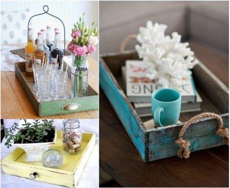17 mejores ideas sobre decoraci n reciclada para el hogar for Decoracion en madera para el hogar