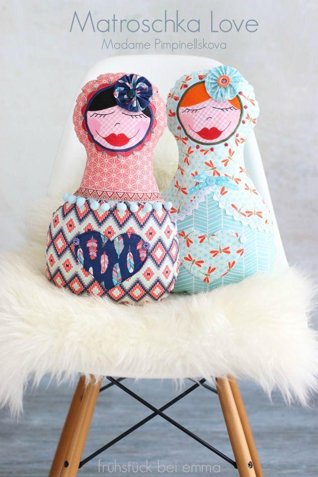 Matroschka Puppen ... eine große Liebe...