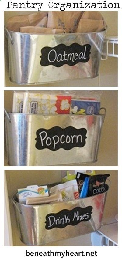 Great idea to use the wall space in your pantry for for Extra kitchen storage
