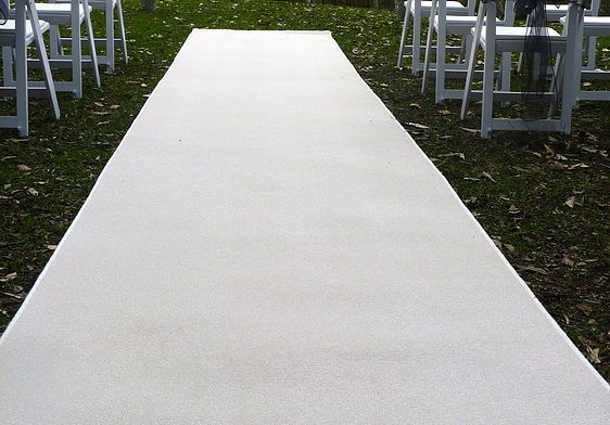 Wedding Knights, Ceremony Decoration Hire, Sydney | Aisle Runners