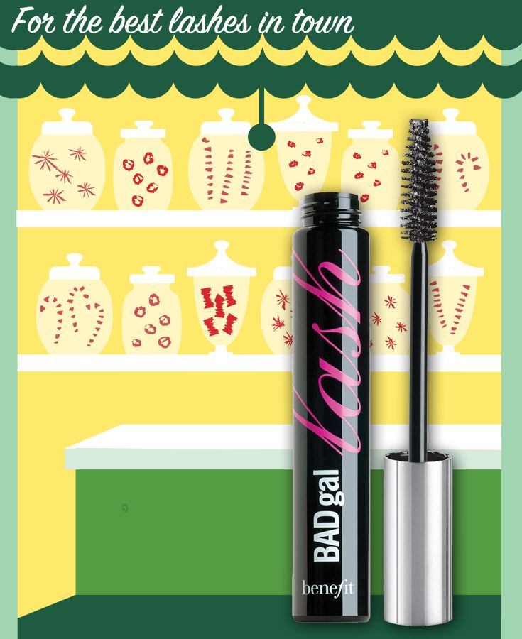 Repin to win BADgal lash & post to Twitter with #benesweetshoppe on Dec 22nd