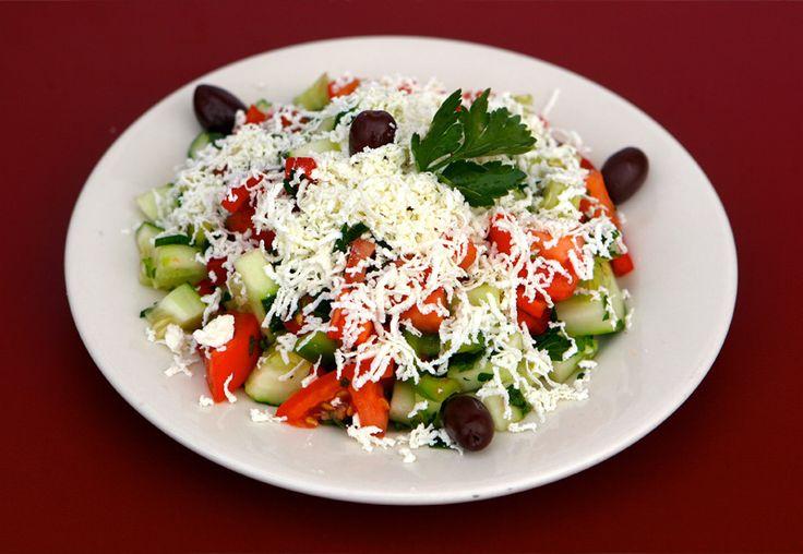 Traditional Bulgarian Shopska Salad Recipe | Best Recipes