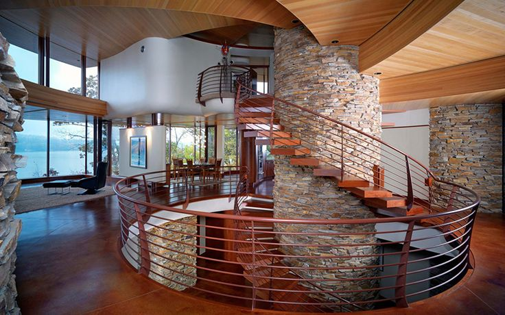 Best 65 Modern Spiral Stairs That Will Bring A Stylish Flare To 400 x 300