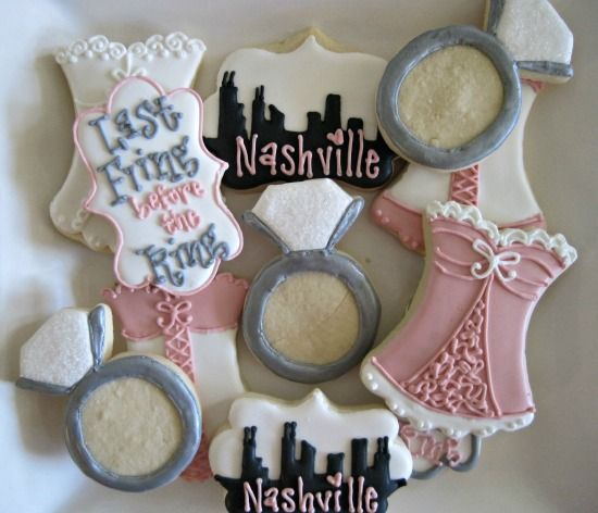 Skyline and Lingerie Cookies