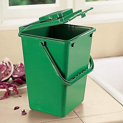 large kitchen compost bucket 25 gallon compost bin includes filter