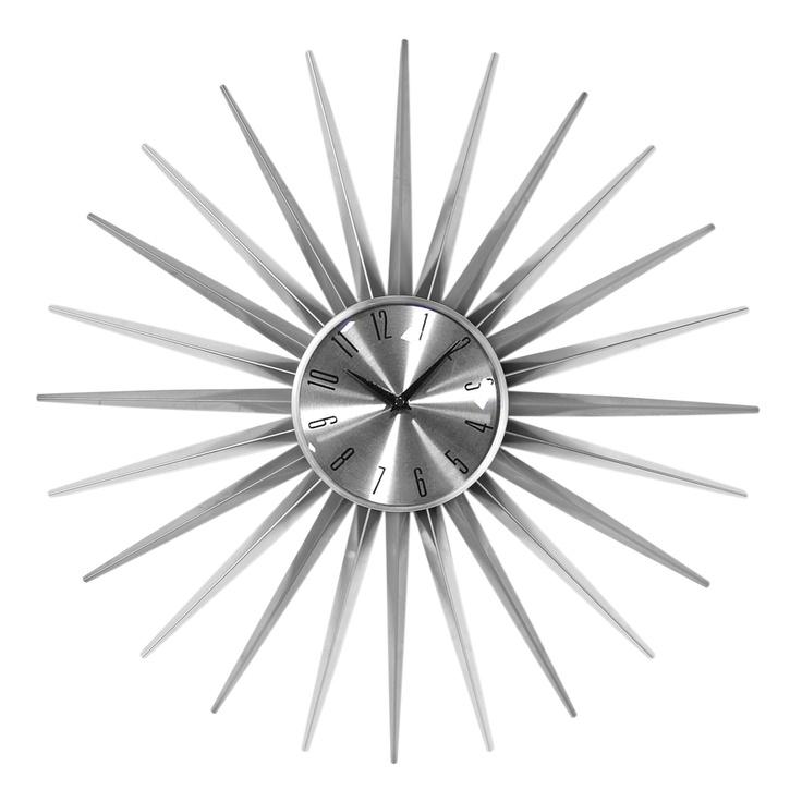 Premier Housewares Sunburst Wall Clock | Wayfair UK
