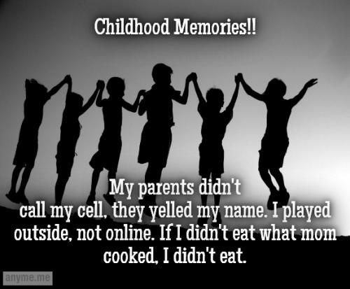 happy childhood memories essay Free essay: my days were happy ones before i started going to school, as i had lots of neighbors to play with from morning till dark we played games.