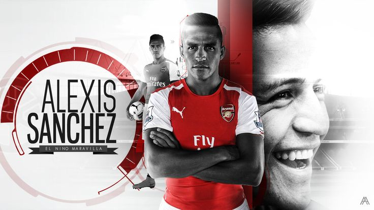 Alexis Sanchez (Arsenal) Wallpaper by AlbertGFX.deviantart.com on @deviantART