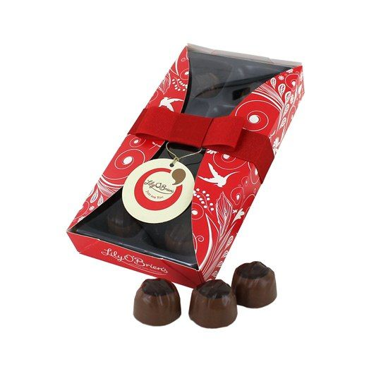 Christmas Favourites - Sticky Toffee, 8 Chocolates available at LilyOBriens.ie