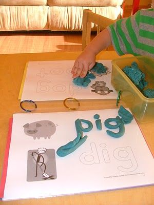 Play-Doh Words