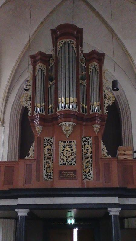 Lochem, Grote of St-Gudulakerk Johann Theodor Gilman-orgel (1758)