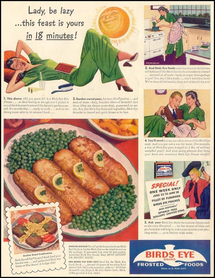 Afbeeldingsresultaat voor Food Chun King Frozen Food vintage ads