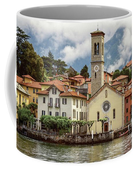 Torno Coffee Mug featuring the photograph Torno On Lake Como Italy by Joan Carroll