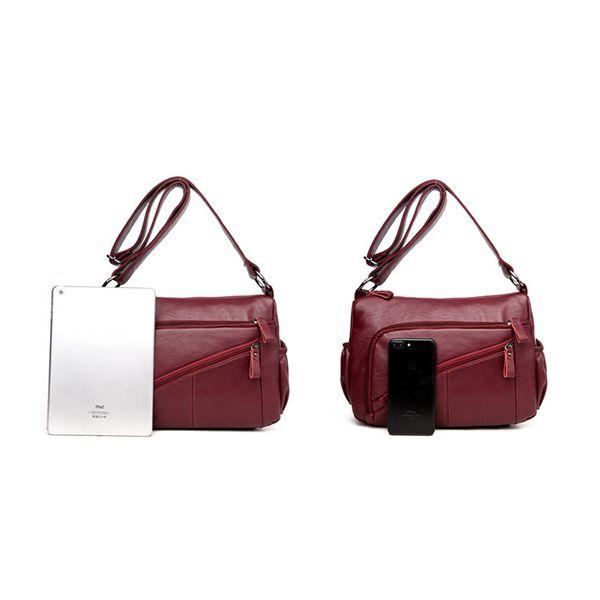 Ekphero Women Elegant Multi-pockets Shoulder Bags Daily Crossbody Bag is Worth Buying - NewChic