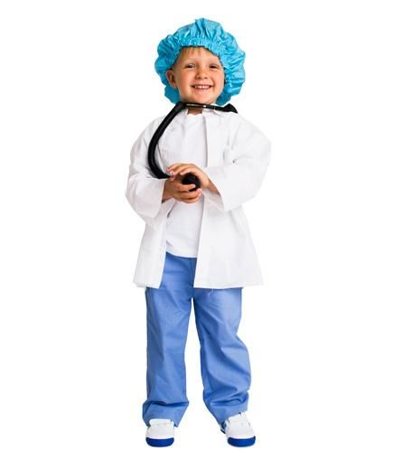 24 homemade halloween costumes for kids - Kids Doctor Halloween Costume