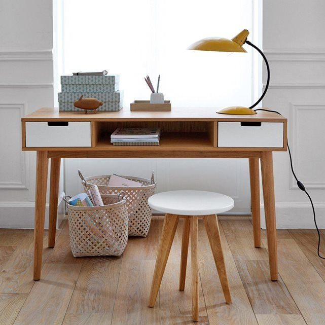 1000 ideas about bureau vintage on pinterest simple desk hairpin and hairpin legs. Black Bedroom Furniture Sets. Home Design Ideas