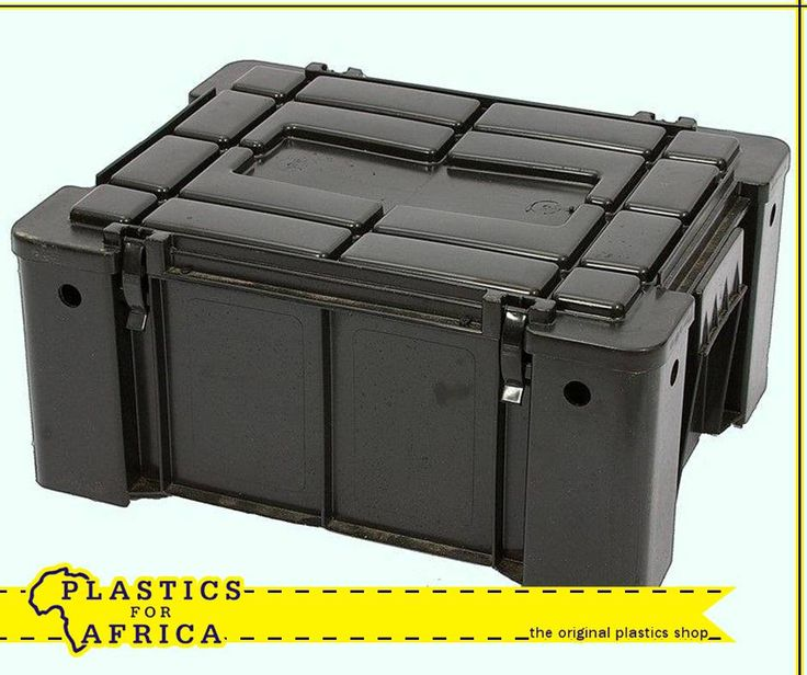 Are you already busy planning your camping, off-road or 4x4 holiday in December? These Ammo boxes, available from your nearest #PlasticsforAfrica store are a strong, clip-on lid storage solution for packing food and clothing. Replacement clips are also available. #Storage
