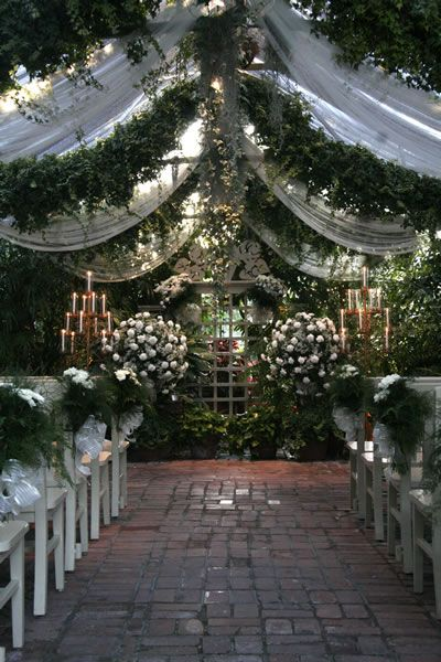 the conservatory… garden wedding any time of the year