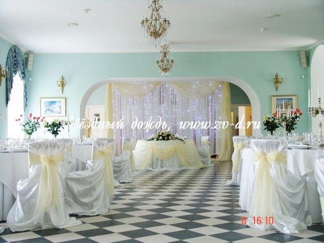 Свадебные чехлы на стулья в аренду Спб