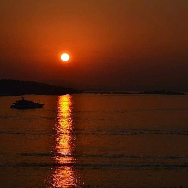Sådan her ser solopgangen ud ved Son Matias beach i Palma Nova! Du kan læse mere om Mallorca her: www.apollorejser.dk/rejser/europa/spanien/mallorca