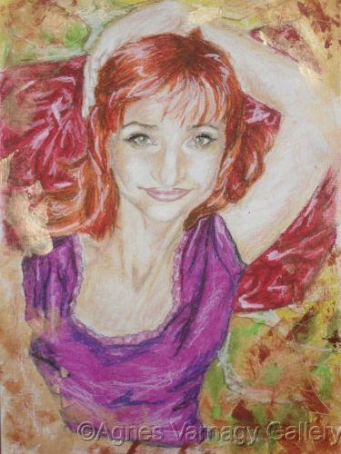Self-portrait IV. by Agnes Varnagy Gallery