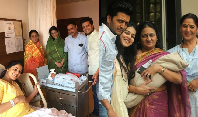 Riteish Deshmukh and Genelia D'souza became proud parents to a baby boy on 25th November. The couple took their first child home on 29th November.