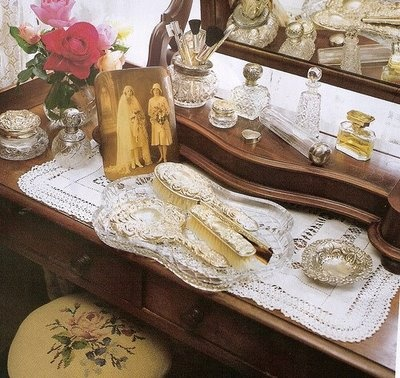 Dressing tables and displays...