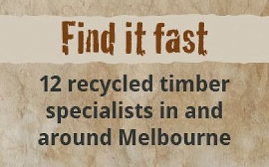 Where to Find Recycled Building Materials in Melbourne | The Junk Map