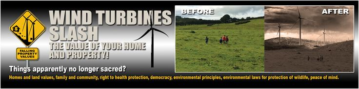 windturbinepropertyloss.org is a citizens coalition, Save Ontario Shores Inc., to address the concerns of the health, safety and welfare of the Town of Yates and Town of Somerset taxpayers and residents regarding the issue of permitting APEX industrial wind corporation to build as many as 70 industrial wind turbines in these rural towns. Concerns include sound emitting from the turbines 24 hours a day, change to the rural nature of the area with the addition of Industrial turbines