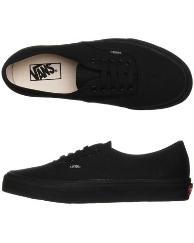 #5 All black Vans you can buy online at vans.com or in the vans store in the mall I think $50?