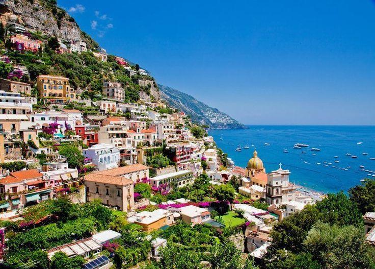 Позитано, Италия. #отпуск #отдых #туристическийжурнал