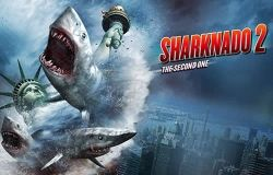 "Watch Trailer: Sharknado 2: The Second One on Syfy - First came ""Sharknado"" a film so bad, it was almost good, well good in a bad way, and now it gets a sequel. On Syfy Channel: July 30 at 9/8c"