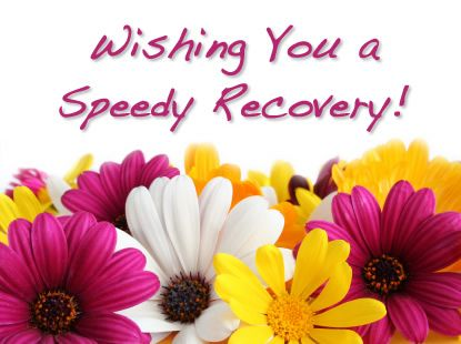 Sweet Get Well Sayings | ... is in the hospital. Let's send her our prayers and get well wishes