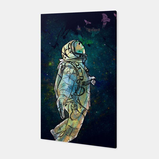Spaceman Canvas