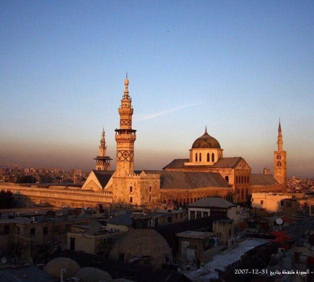 صورة المسجد الأموي - دمشق / سوريا ٣١-١٢-٢٠٠٧