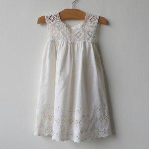 crochet c. 1925 - Belle Heir, Luxury Vintage Clothing for Children