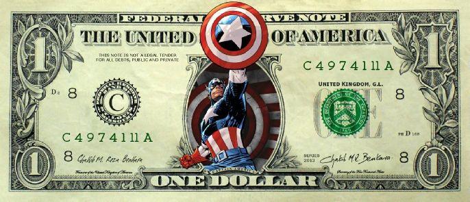 Chakib Benkara Fine Artist - Captain America