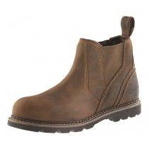 Buckler B1555SM Safety Dealer Boots Brown