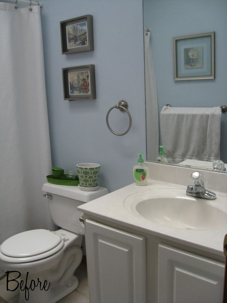 best 25 blue small bathrooms ideas on pinterest blue. Black Bedroom Furniture Sets. Home Design Ideas