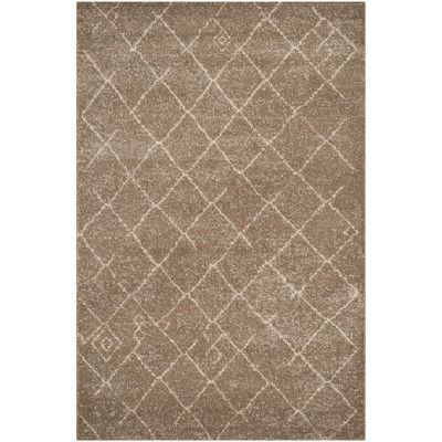Found it at Wayfair - Tunisia Brown Area Rug