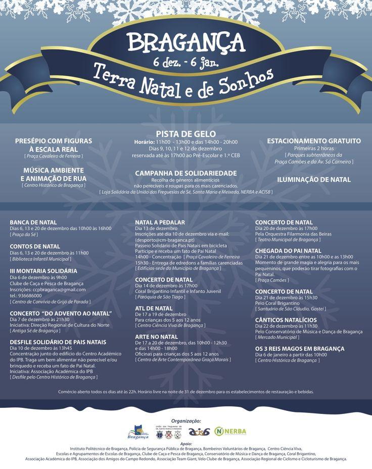 Bragança é a Terra Natal e de Sonhos. De 6 de... | A. Montesinho Turismo