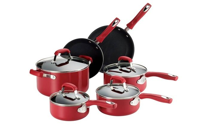 GREAT DEAL!! Guy Fieri 10-Piece Nonstick Cookware $59.99 @ Groupon LIMITED QUANTITY, LIMITED TIME!!