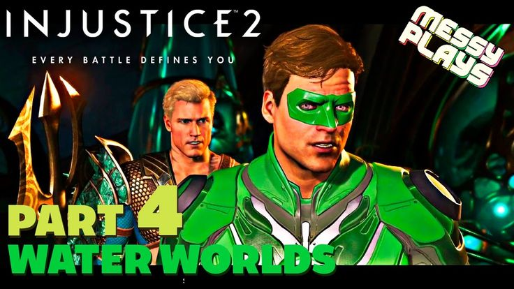INJUSTICE 2 - Part #4 - LETS PLAY with Commentary - MESSYPLAYS
